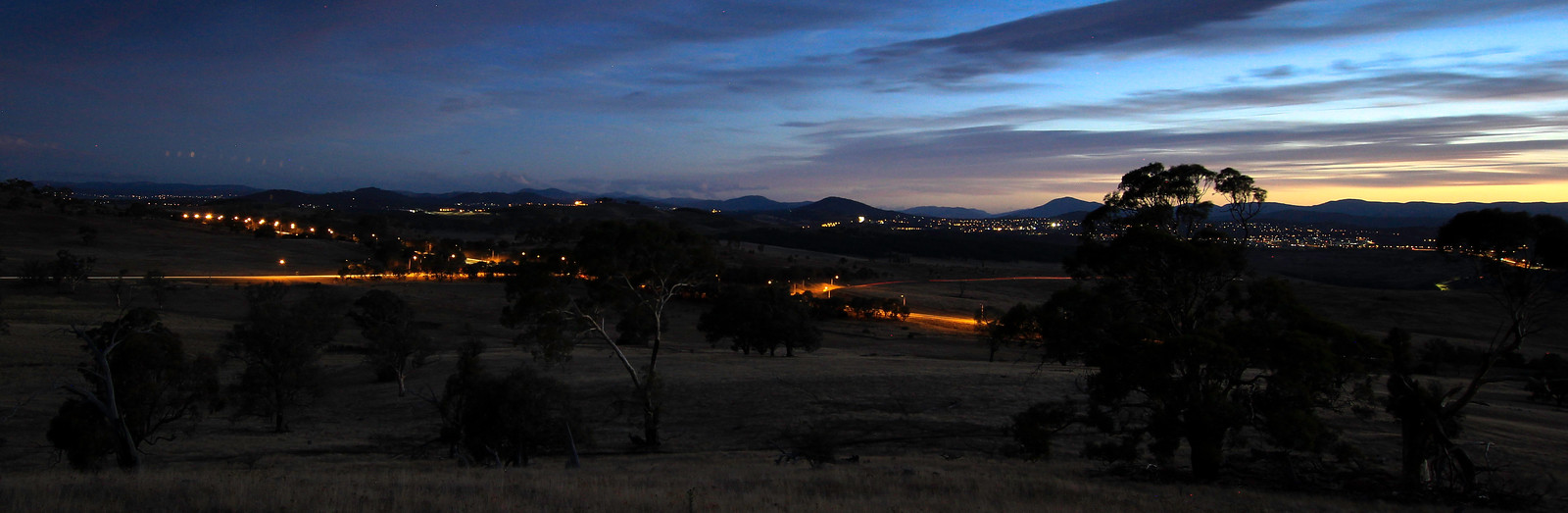 Canberra Country Twilight