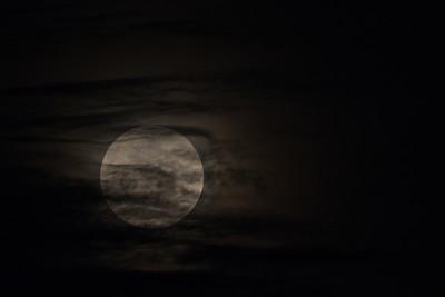 Moonrise - Moyobamba, Peru