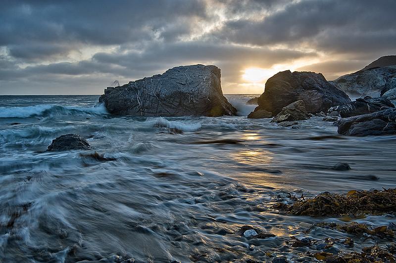 Sunset at Shark Harbor, Catalina Island, CA