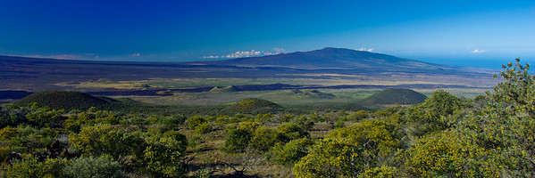 Mauna Loa taken from the south slope of Mauna Kea; January 8, 2008; Big Island, Hawaii