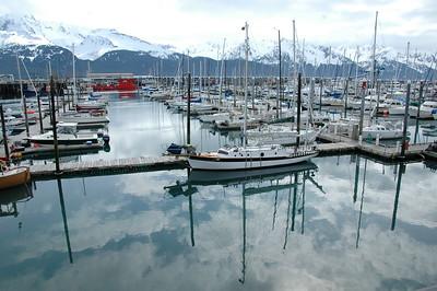 Marina in Seward, Alaksa