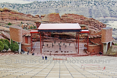 Red Rocks Ampitheatre. Complete with Tai Chi session. Morrison, CO