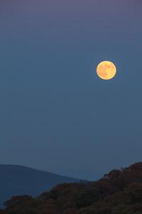 Moon Over Mount Magazine