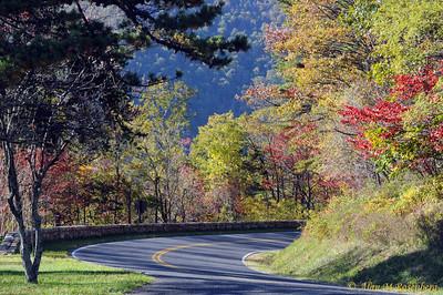 Skyline Drive, Shenandoah National Park, Va.
