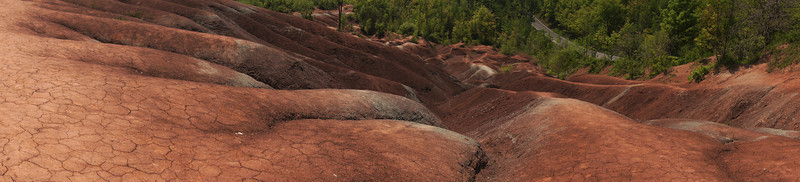 The Badlands in Caledon Ontario