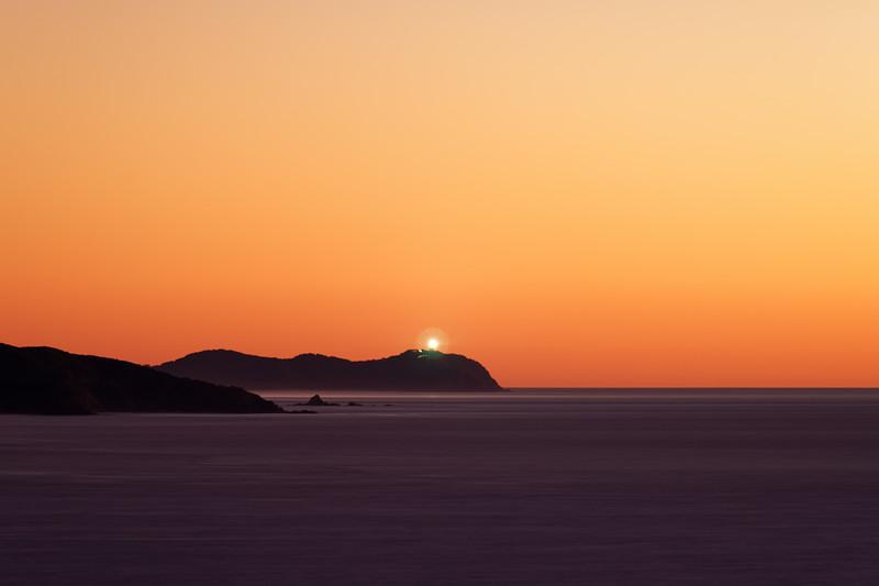 Byron Bay lighthouse at dawn
