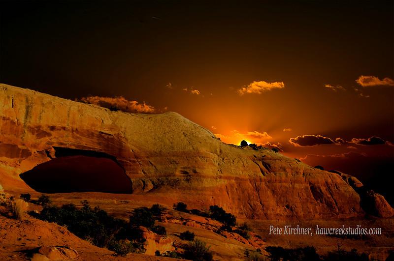 Wilson Arch sunrise