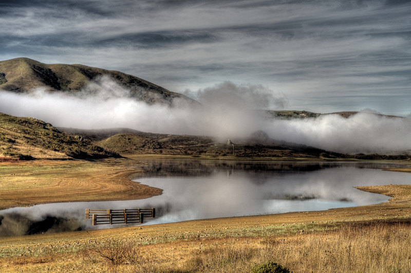 Nicasio reservoir, Ca