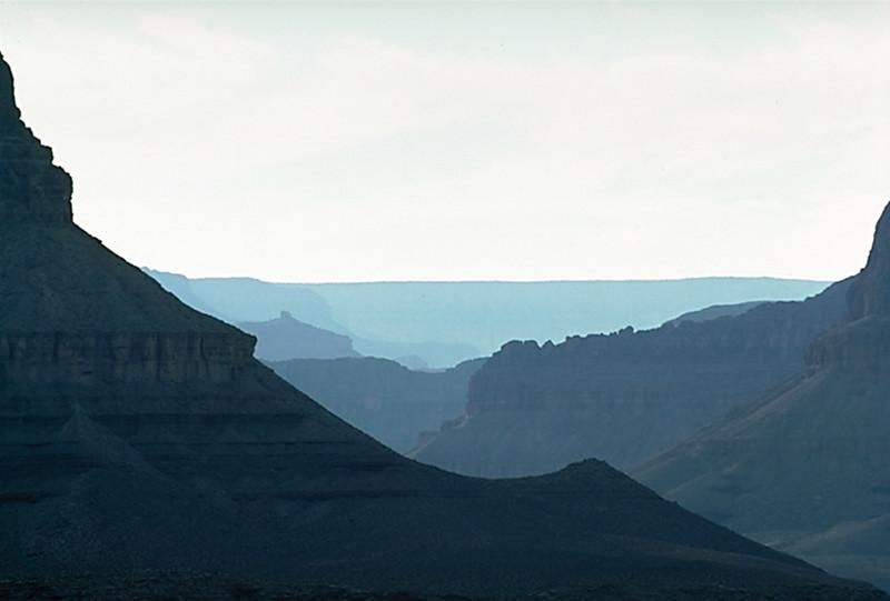 Dana Butte from Tonto Platform, Grand Canyon National Park, Arizona