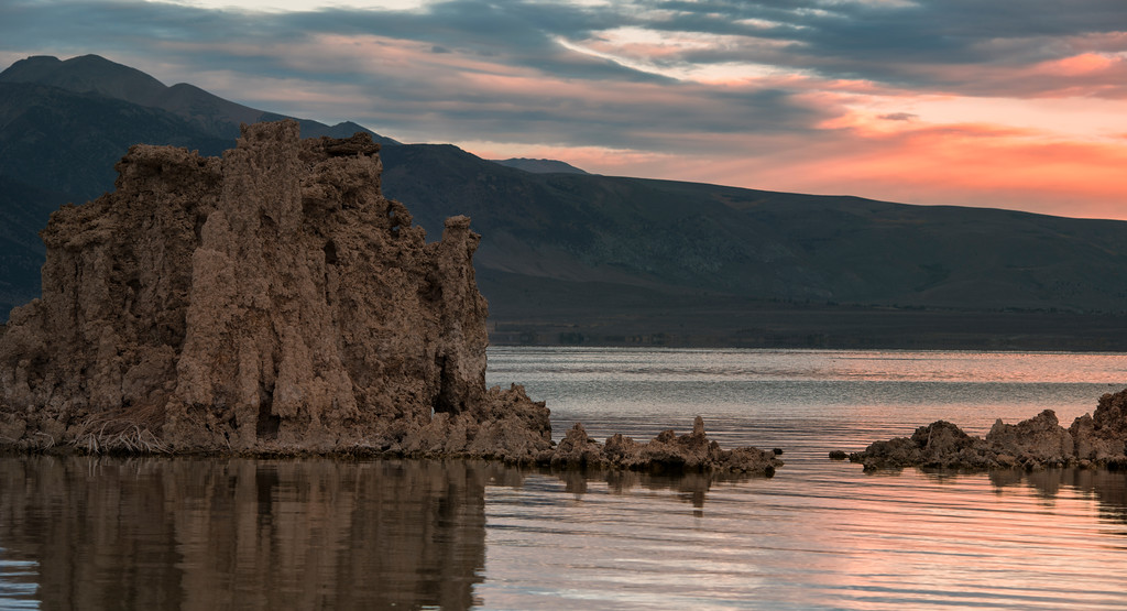 Mono Lake, CA at Sunrise