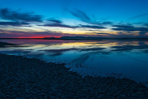 Sunset on The Great Salt Lake