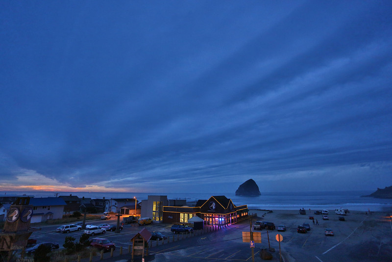 Sunset at Pacific City Oregon