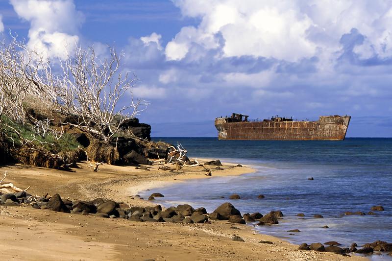 """Shipwreck Beach"" - Island of Lana'i, Hawaii"