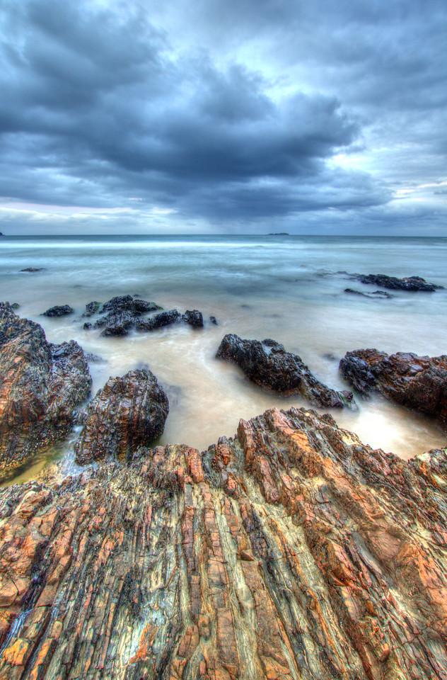 Layed rocks