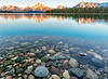 Sunrise, Jackson Lake and the Grand Tetons
