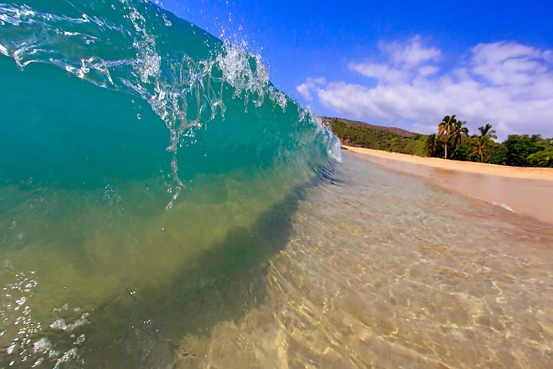 "Wave Images - ""Beach Wall"" - Hawaii"