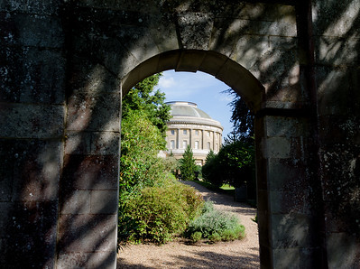 Ickworth through The Arch.