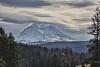 Mount Rainier, storm on the way