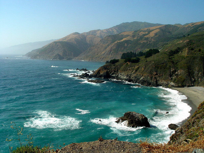 Big Sur south of San Fransisco.
