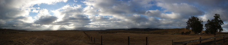 Just outside the KCL Campground in the Carrizo Plain National Monument