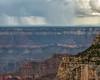 Lightening across the Grand Canyon
