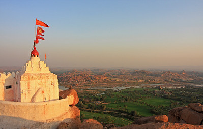 Hanoman Temple, Hampi, India