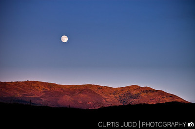 Moonrise over the Uintas 1