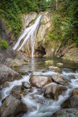 Twin Falls at Olallie State Park, Washington