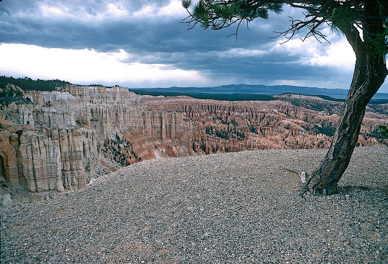 Approaching Storm, The Amphitheatre, Bryce Canyon National Park, Utah