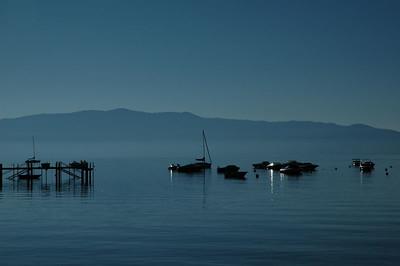 Lake tahoe - just after sunrise.