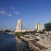 St. Pete Times Forum and Marriott Waterside on the Hillsbourgh River, Tampa FL