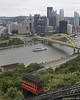 Duquesne Incline in Pittsburgh, PA.