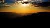 Sun Setting in Grand Canyon