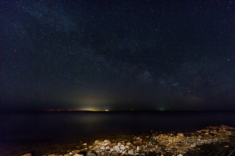 Milky Way Over the Soo