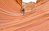 Entering the Wave - North Coyote Buttes, AZ - Feb 2009
