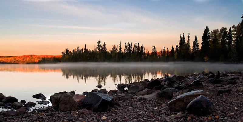 Sunrise - Sleeping Giant Provincial Park - Oct 2006
