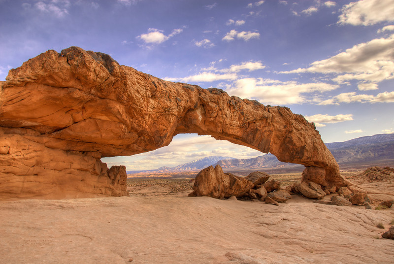Sunset Arch Escalante UT - Oct 2009