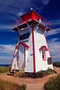 Covehead Harbour Light. Prince Edward Island National Park, Canada. Picture scanned from slide.