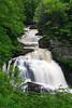 Cullasaja falls along US 64 in Macon County NC, near Franklin