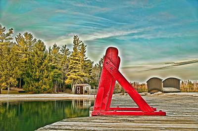 Lake at Split Rock Resort, PA, USA