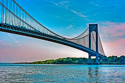 Verrazano Bridge, New York, U.S.A.