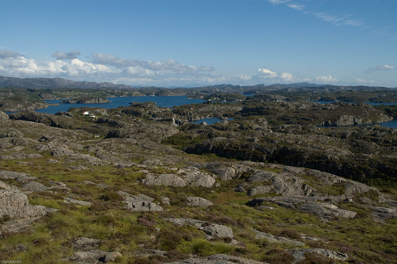 Utsikt fra Lokøytoppen