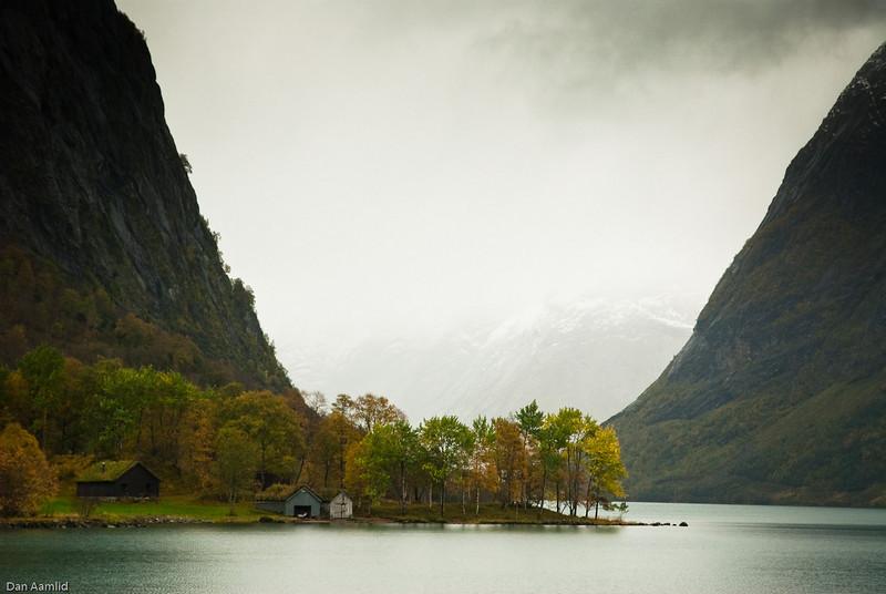 Kjøsnes, Kjøsnesfjorden, Jølseter, W-Norway