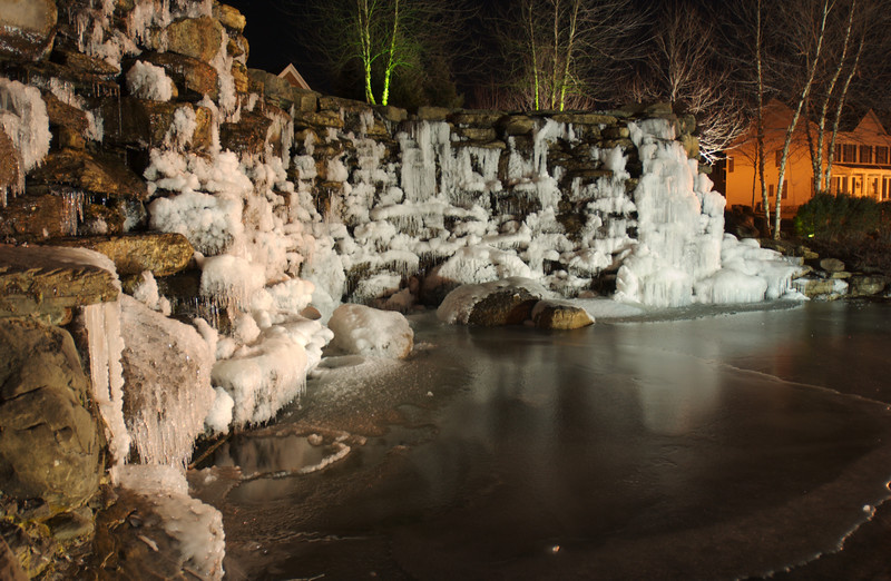 Lansdowne Waterfall in Winter