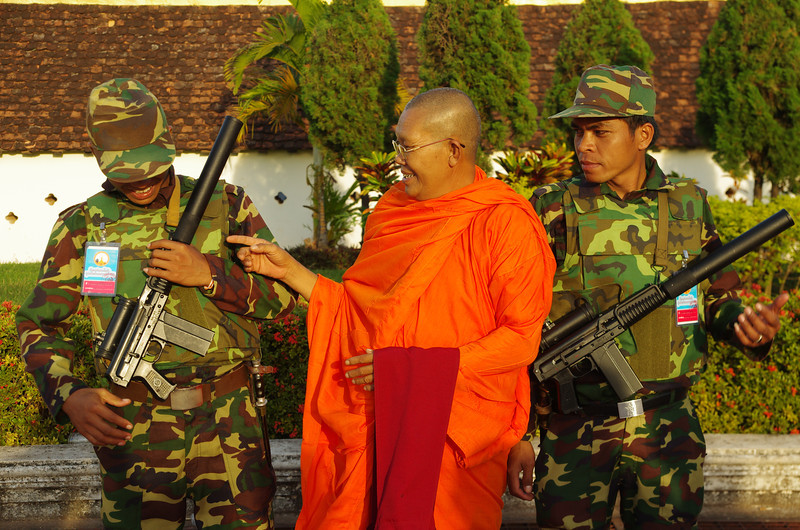 Spiritual leader in Vientiane, Bun That Luang