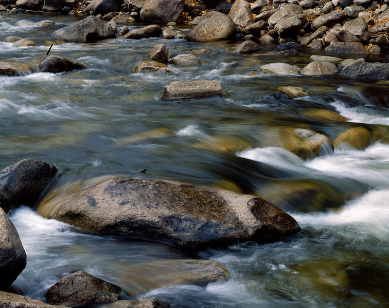 Walker River and stones