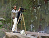 This is me, circa 1985, in Zion National Park with my Zone VI 4x5 view camera.  The photos in this gallery (except this one) were taken at various locations in the Southwest with that camera rig.  Note the bell bottom pants and blue & yellow Nike shoes.  No, that isn't a gun on my hip, it's my Zone VI modified Soligor spot meter.