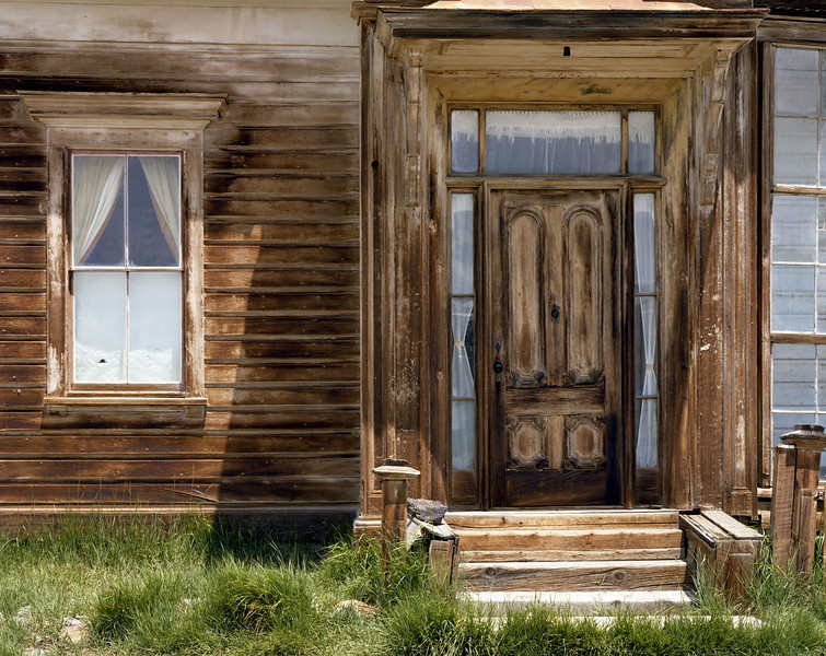 Building detail, Bodie State Historical Park, California