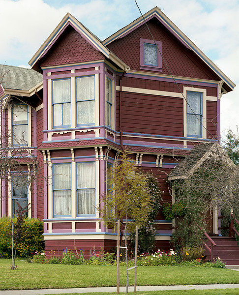 My sister's Victorian house in Berkeley, CA