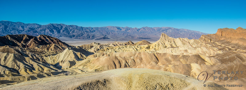 Death Valley - Zabriskie Point.